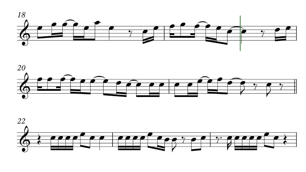 Memories Maroon 5 Sheet Music For Violin Score Youtube