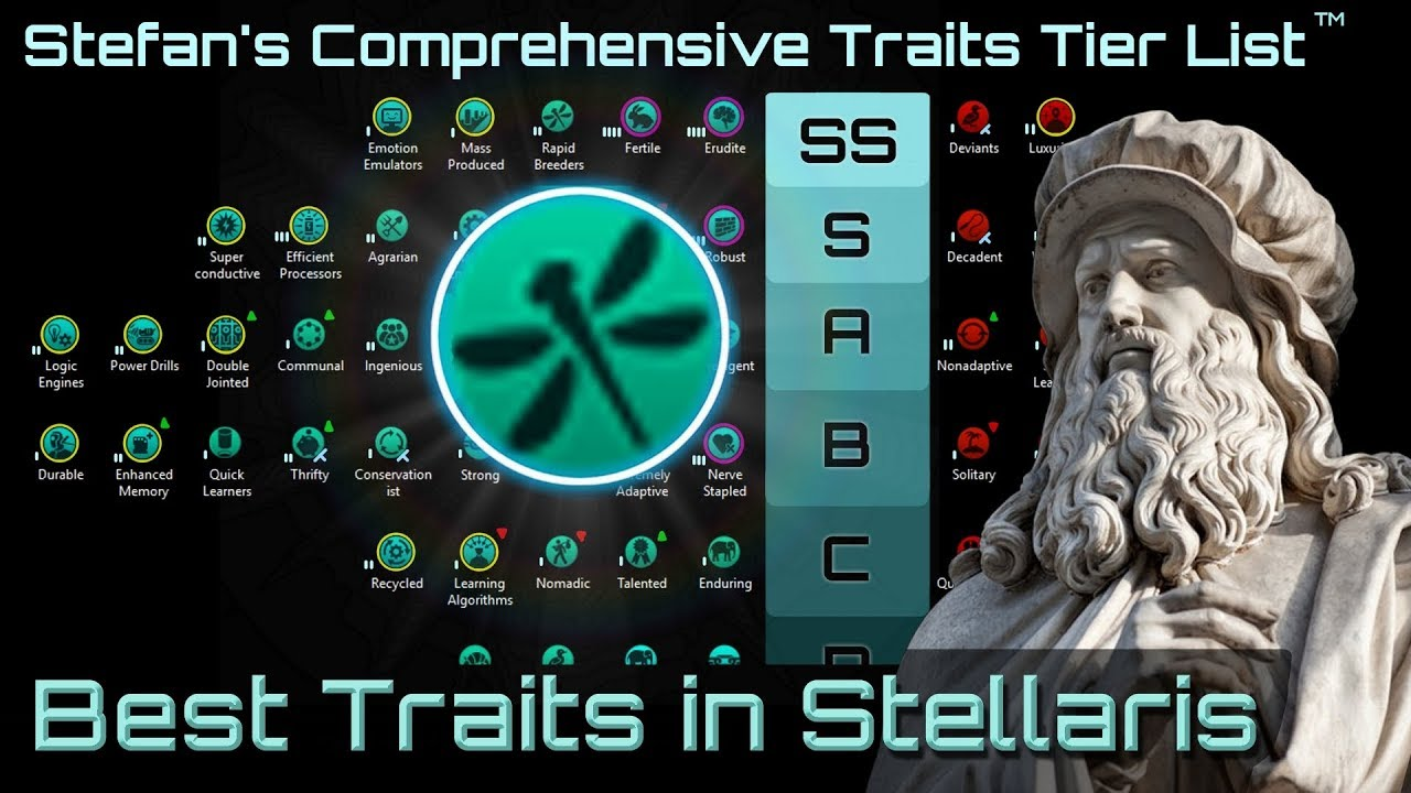 Civ 5 Tier List 2020.The Complete Stellaris Traits Tier List Guide Part 1 Stellaris 2 2 7 Le Guin Strategy