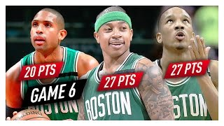 Isaiah Thomas, Al Horford & Avery Bradley Game 6 Highlights vs Wizards 2017 Playoffs ECSF - 74 Pts