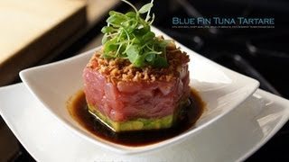 Bluefin Tuna Tartare Appetizer - Bruno Albouze - The Real Deal