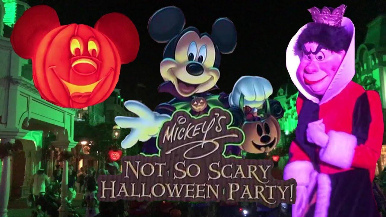 2018 mickey's not-so-scary halloween party walt disney world magic
