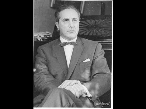 Yakov Flier plays Bach-Busoni Chaconne (1947 rec.)