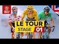 Tour De France 2019 Stage 1 Highlights: Brussels-Brussels