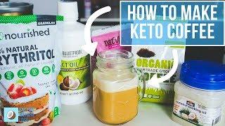 How To Make Keto Coffee | Bulletproof Coffee Vs Keto Coffee
