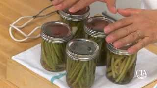 Making Pickled Green Beans