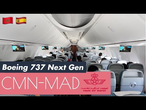 Royal Air Maroc | Casablanca to Madrid | AT 970 | Flight Experience ✈