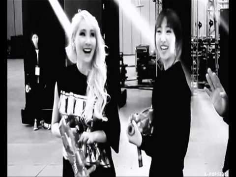 Minzy and CL - Chaezy Moments - Beautiful Stranger