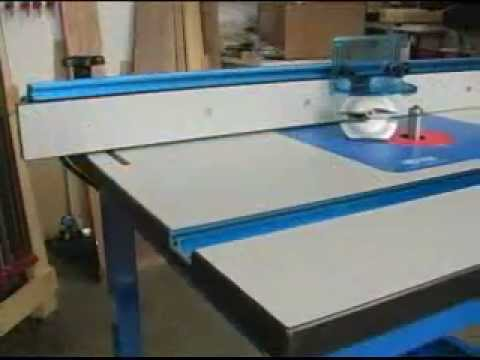 Kreg Precision Router Table Review | NewWoodworker - YouTube