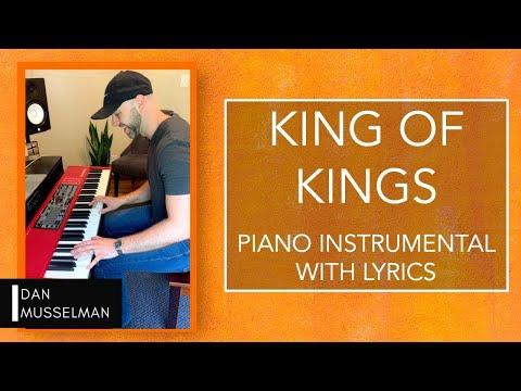 KING OF KINGS | Piano Instrumental With Lyrics | Hillsong Worship Cover