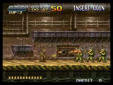 Metal Slug X (Expert) Final Mission Complete! 1/2