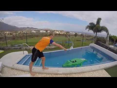 Hater's gonna say it's fake! -- Dutch Olympic Swimming team extreme swimming cap challenge