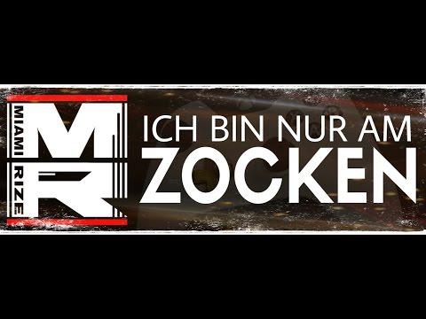 Miami Rize - Ich bin nur am Zocken (Lyric Video) Gamer Song