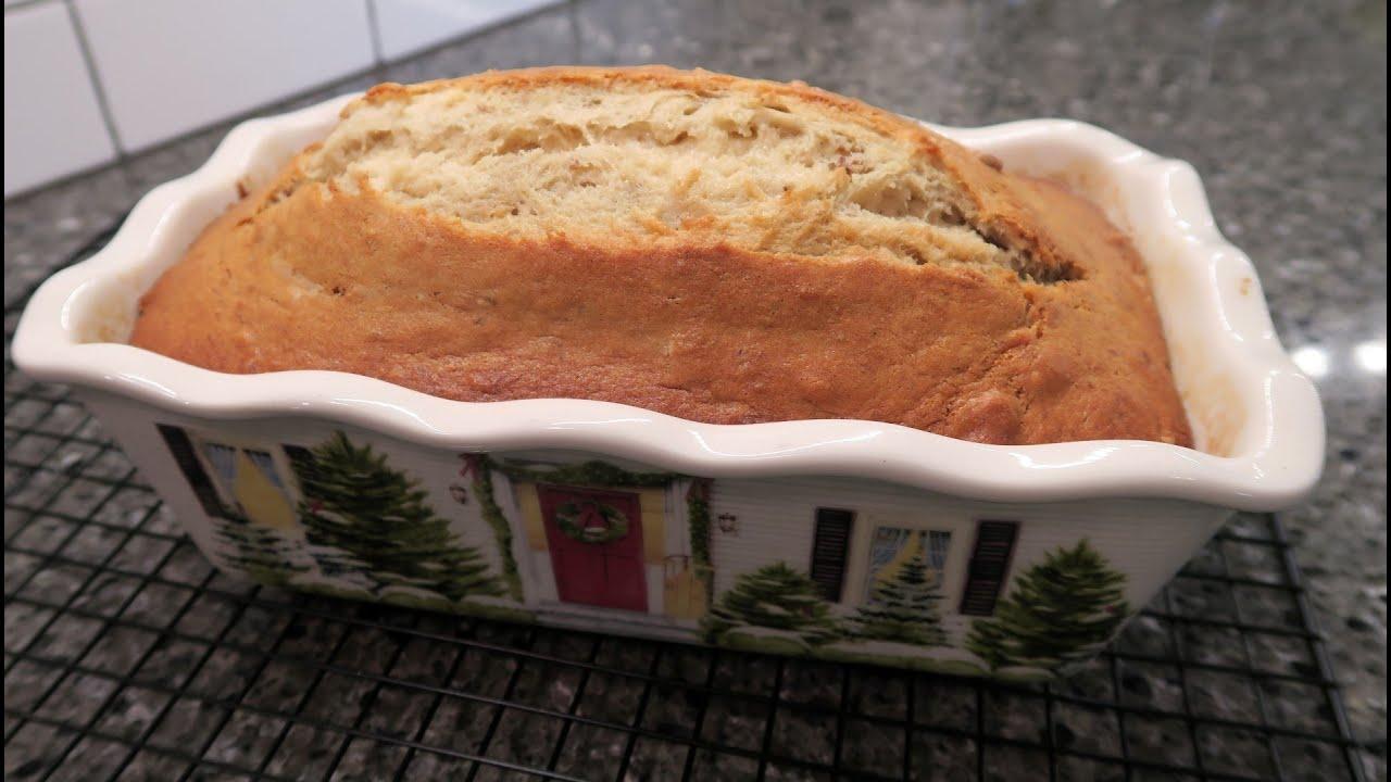 Easy Homemade Banana Bread Recipe - YouTube