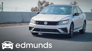 Is the 2018 Volkswagen Passat GT really a sports sedan? | Track Test | Edmunds