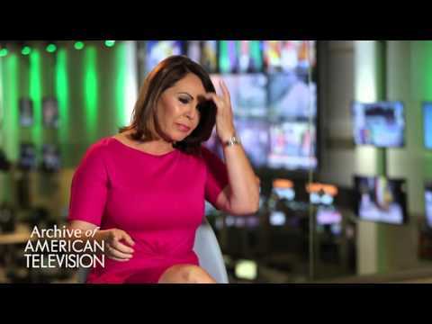 Maria Elena Salinas discusses covering natural disasters - EMMYTVLEGENDS.ORG