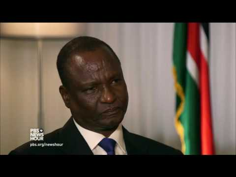 South Sudan's violent summer, alleged corruption according to the nation's vice president