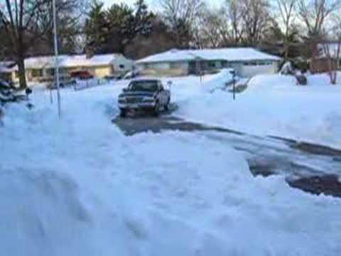 Champaign Illinois Blizzard 2007