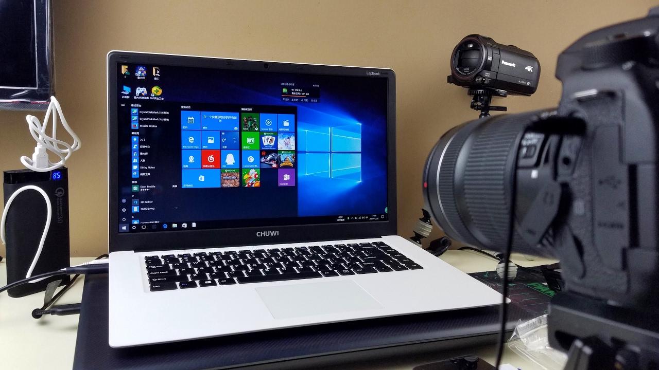 CHUWI LapBook обзор на обновленный ультрабюджетный ноутбук с Intel Atom X5 Z8350 + WoT