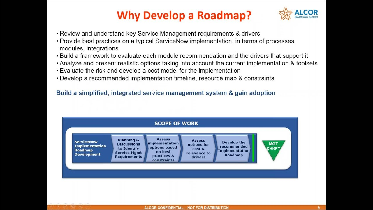 roadmap 101 of the servicenow business platform