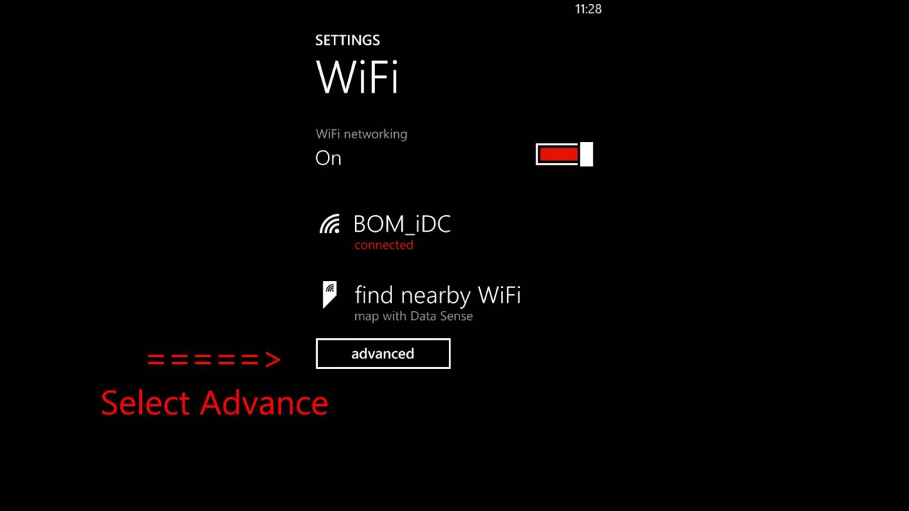 shaw how to turn off wi fi