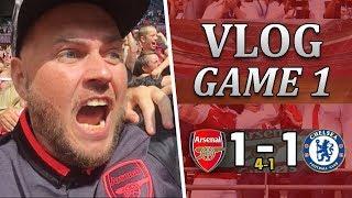 Arsenal 1 v 1 Chelsea - 4 - 1 Pens   Superb Start To The New Season   Matchday Vlog