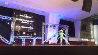 Advance Детский кол-в современного танца Эдванс. Рожкова Карина - Я Сильная.