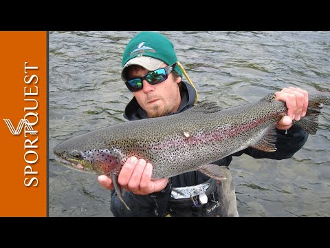 Alaska Fly Fishing - Rainbow Trout (1080p HD) Top rated video