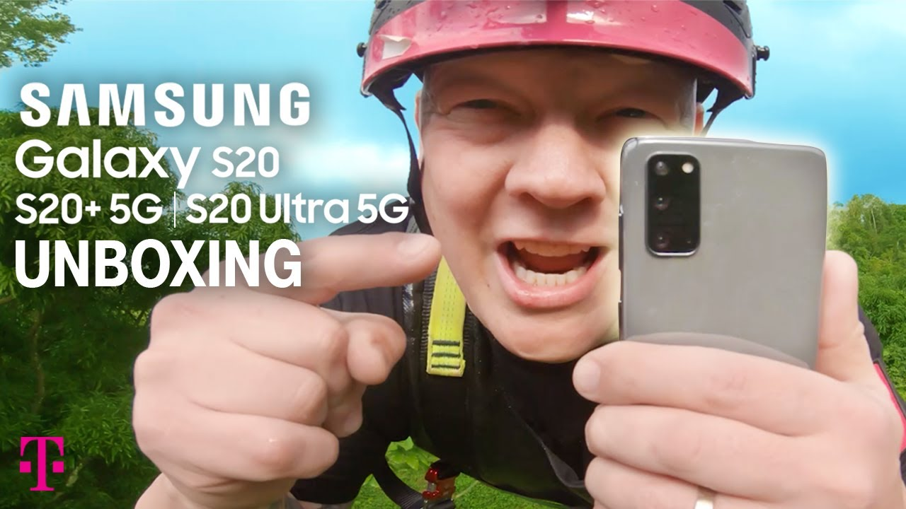 Unboxing NEW Samsung Galaxy S20 5G, S20+ 5G, S20 Ultra 5G! | T-Mobile 5G Network