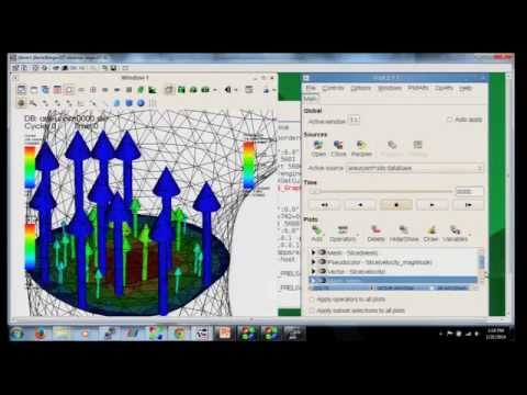 Visualization and Graphics Tutorial 5/7: VisIt introduc...