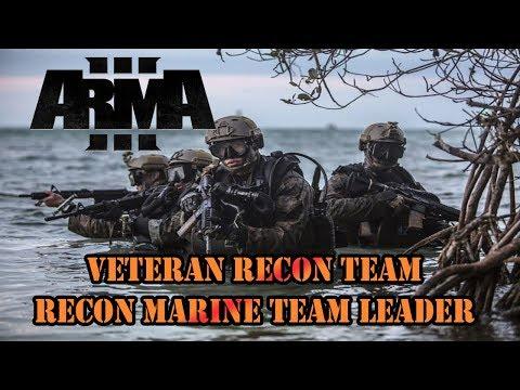 ARMA III Al Rayak Offensive - Veteran Recon Team (Recon Marine Team Leader)