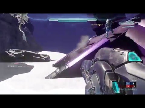 Halo 5 Snowbound Remake GAMEPLAY! by ilsilentii   Halo 3 Classic Remakes