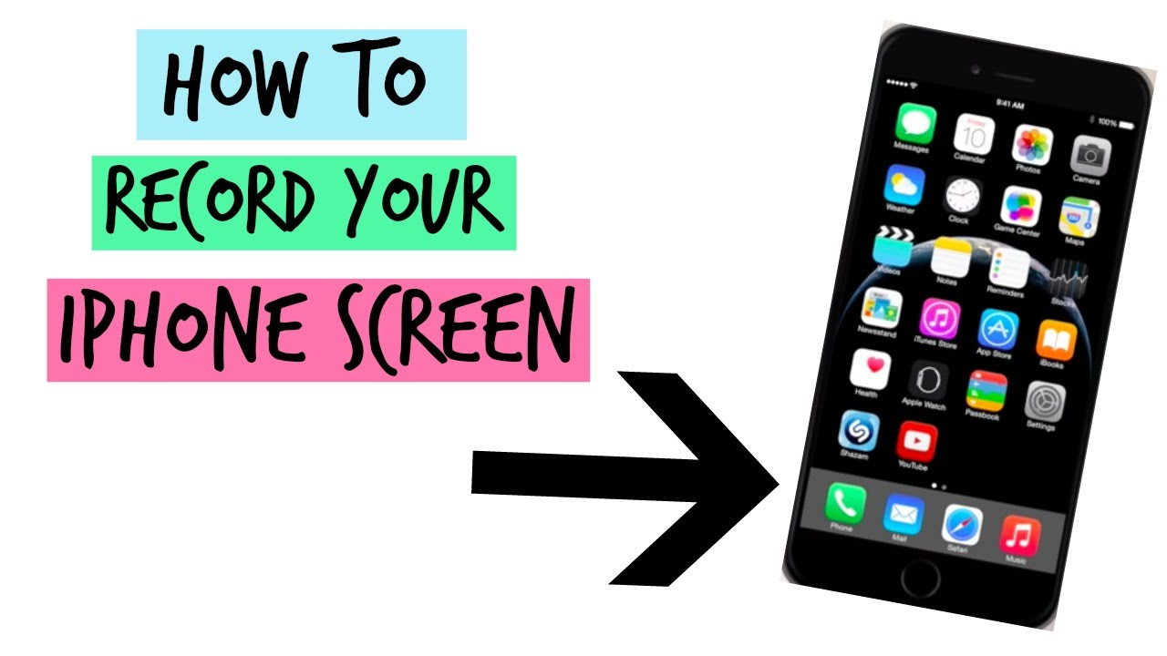 how do i record my iphone screen how to record your iphone screen like my whats on my 2307