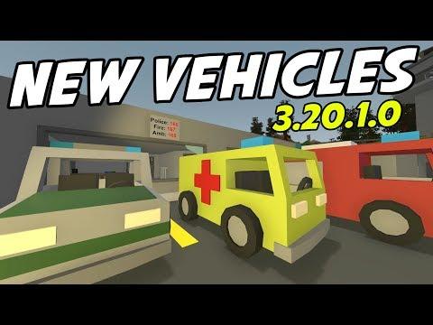 UNTURNED - New German Vehicles! Secret Teleporter! Prison Key! (Update 3.20.1.0)