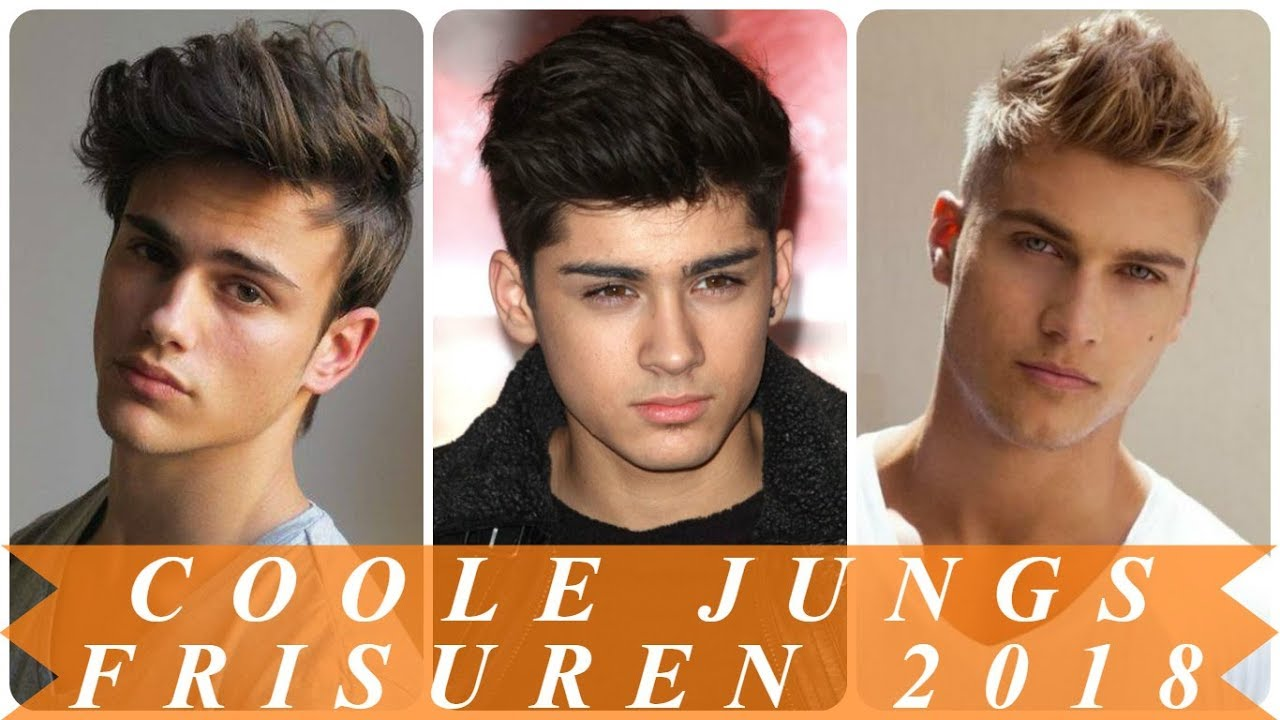Coole jungs frisuren 2018