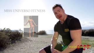 Allenamento fitness per tonificare gambe glutei e cosce