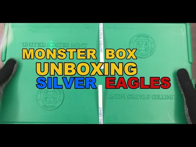 Unboxing the Monster Box EP 2- American Silver Eagles