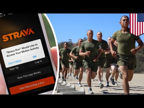 Strava Global Heat Map: US soldiers giving away valuable intel by using fitbit - TomoNews