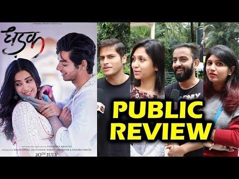 Dhadak PUBLIC Review   Audience Gone Crazy For This Romantic Film