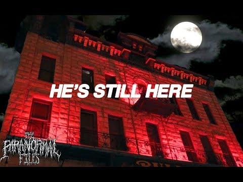 👻 SETH BULLOCK'S SPIRIT still HAUNTS the HALLS of his HAUNTED HOTEL (2018 vlog HD) 👻