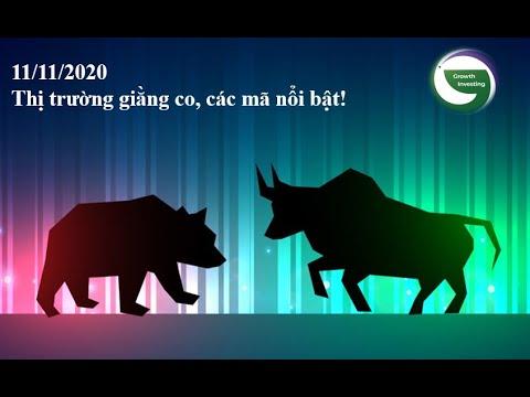 11/11/2020- Thị trường giằng co, các mã nổi bật!- Các mã cổ phiếu nổi bật: PVS, PVD, VCI, TNG, FCN