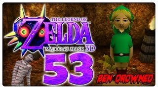 Let's Play THE LEGEND OF ZELDA MAJORAS MASK 3D Part 53: Ben Drowned