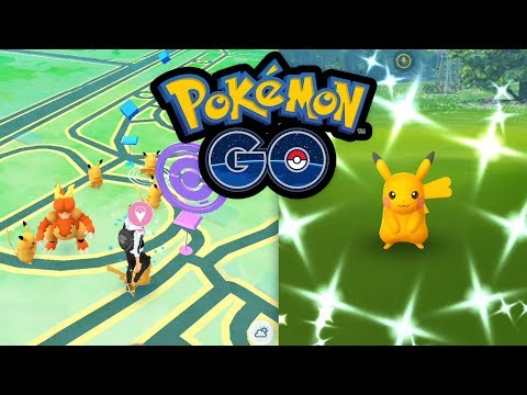 Download Youtube: Shiny-Pikachu an jeder Ecke | Pokémon GO Deutsch #533