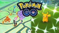 Shiny-Pikachu an jeder Ecke | Pokémon GO Deutsch #533