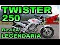 HONDA TWISTER CBX 250 |Review en Español con Blitz