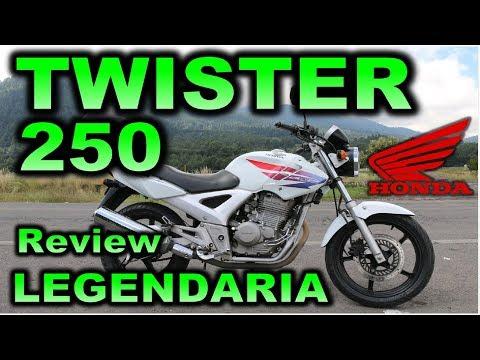 HONDA TWISTER CBX 250  Review en Español con Blitz