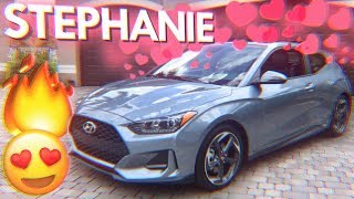 Meet Stephanie  My BRAND NEW 2019 Hyundai Veloster Turbo смотреть