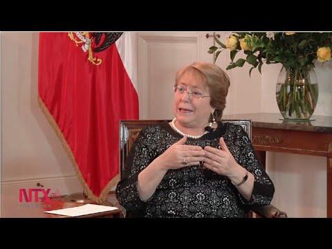 """México ha estado """"en las buenas y las malas"""" con Chile: Michelle Bachelet"""