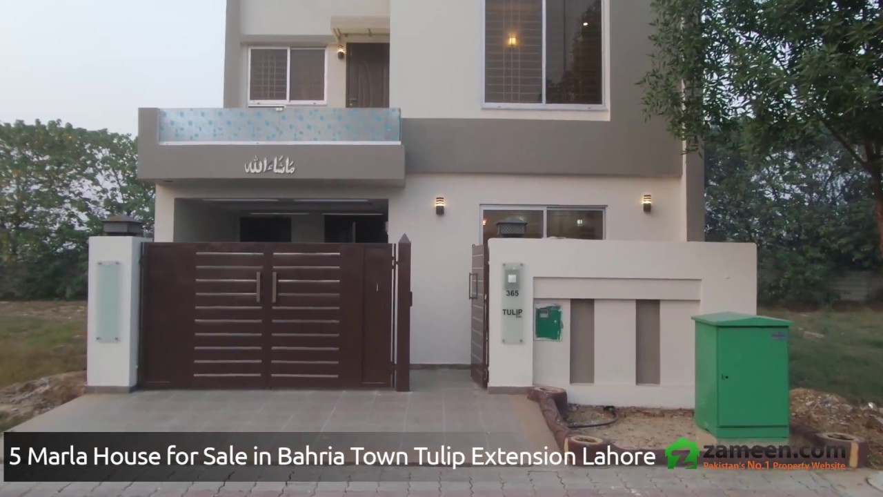 5 marla house for sale in bahria town sector c tulip for 5 marla house modern design