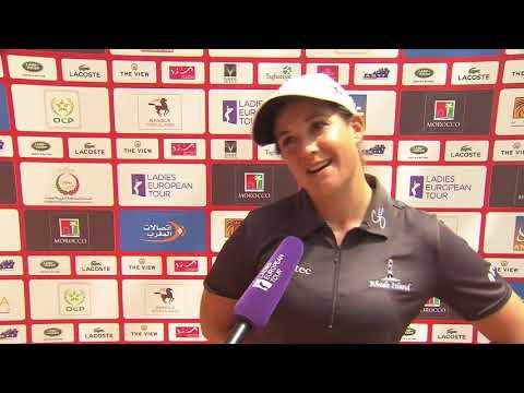 Nicole Garcia Interview Round 1   Lalla Meryem Cup 2018