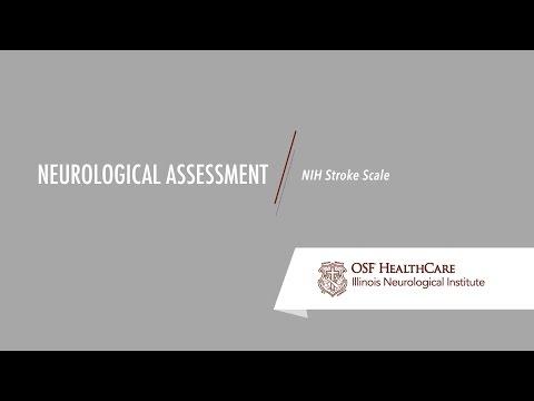 Neurological Assessment - NIH Stroke Scale